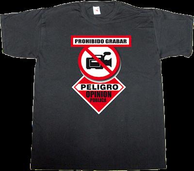 useless Politics corruption spain is different activism t-shirt ephemeral-t-shirts