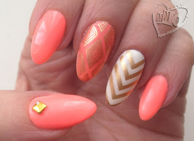 Gelish Brighter Than You Born Pretty Store Review Gold Stamping Polish