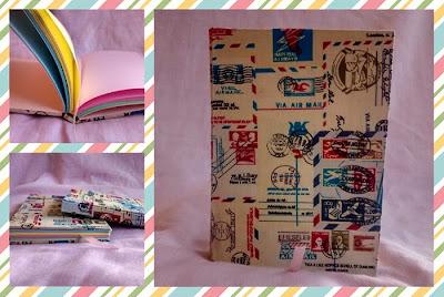 Cadernos artesanais Paperdoll Estúdio