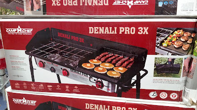 Camp Chef Denali Pro 3x Propane Burner Stove for cooking outdoors