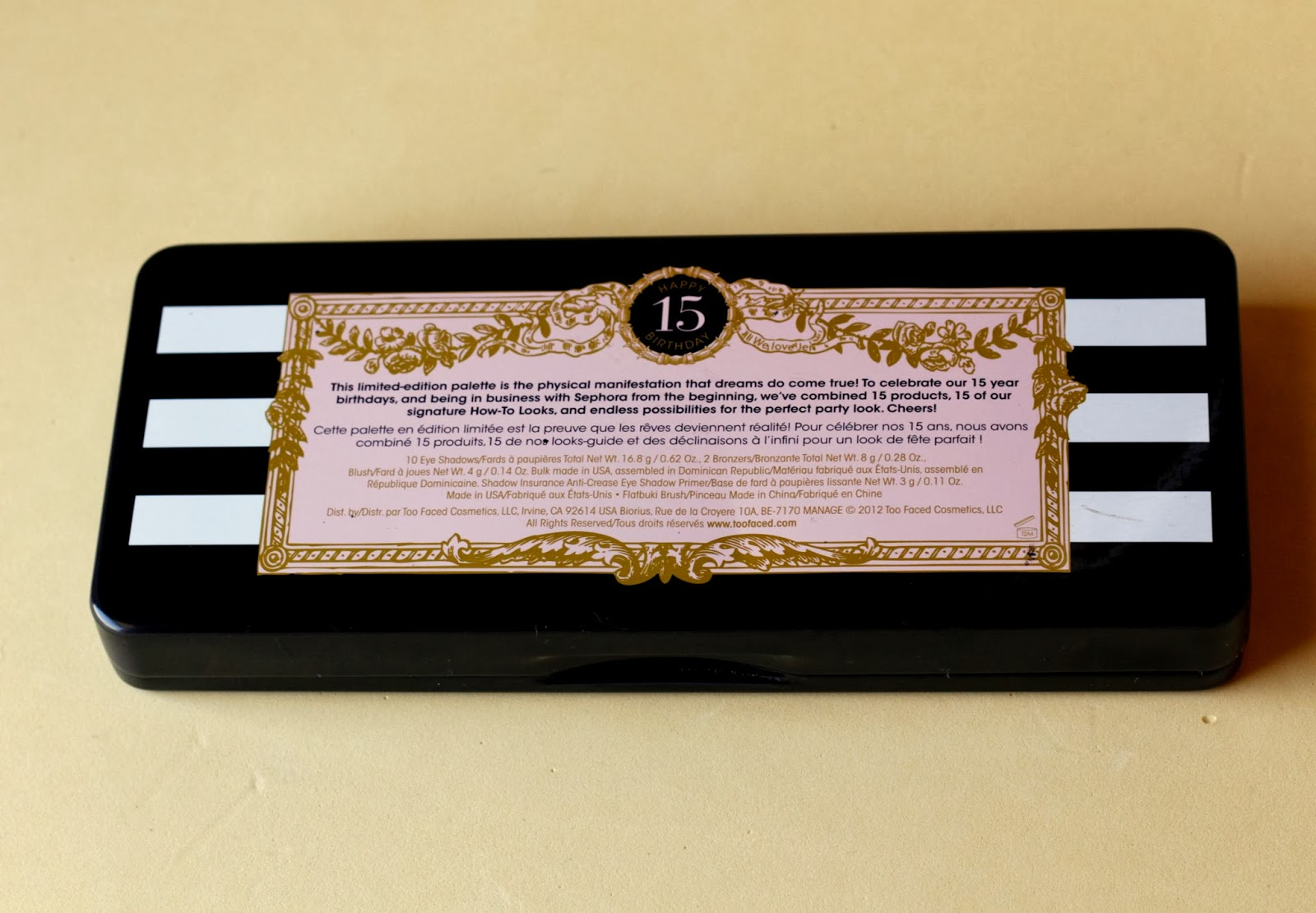 review too faced loves sephora