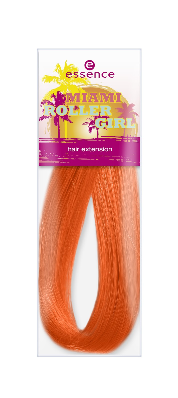 essence miami roller girl hair extension