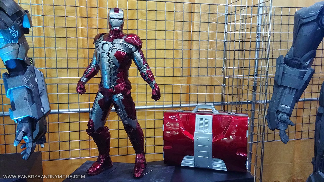 Iron Man 2 briefcase armor