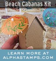 Alpha Stamps July Kit