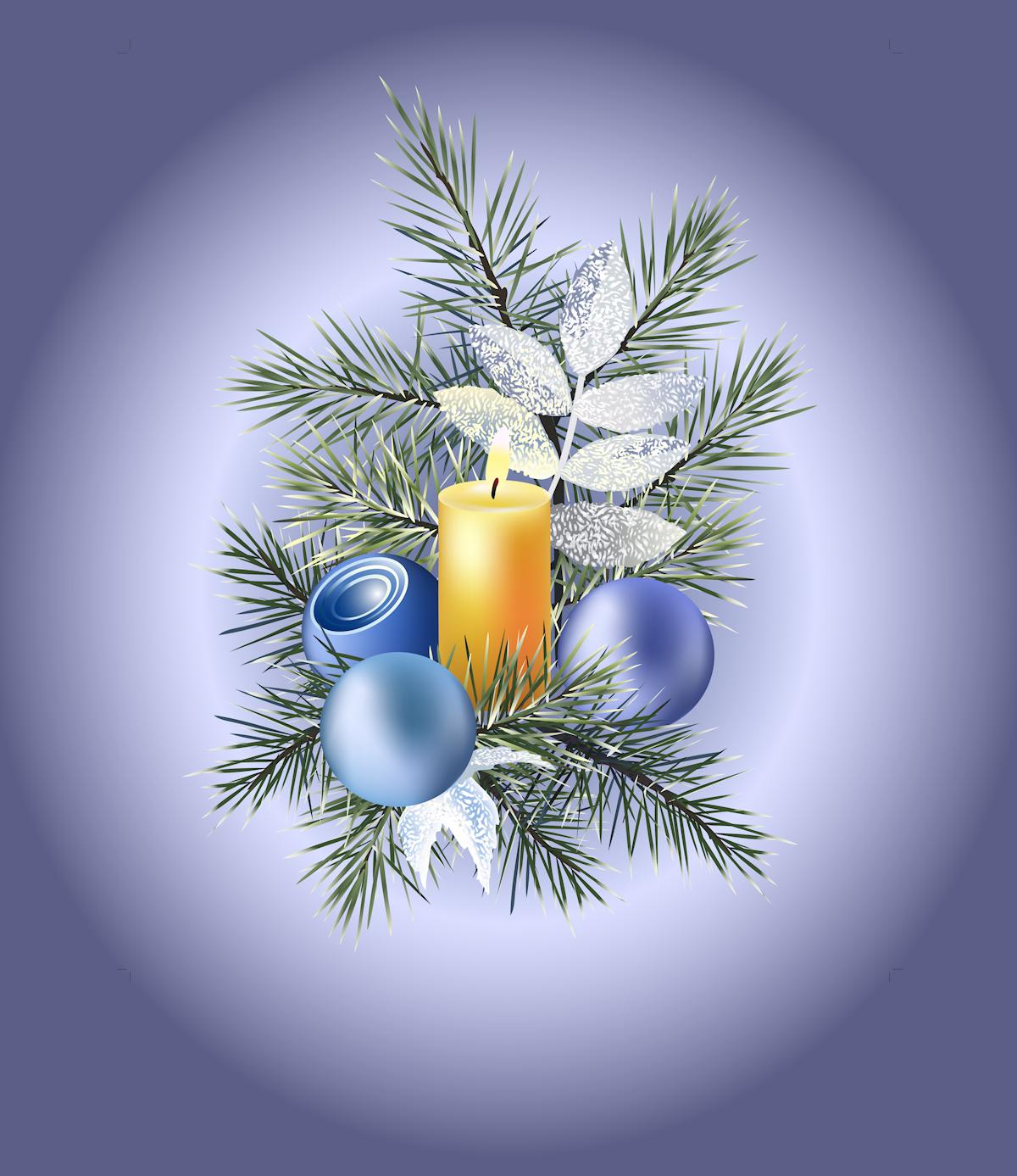 hermosas velas de navidad para compartir en facebook postales de MEMES