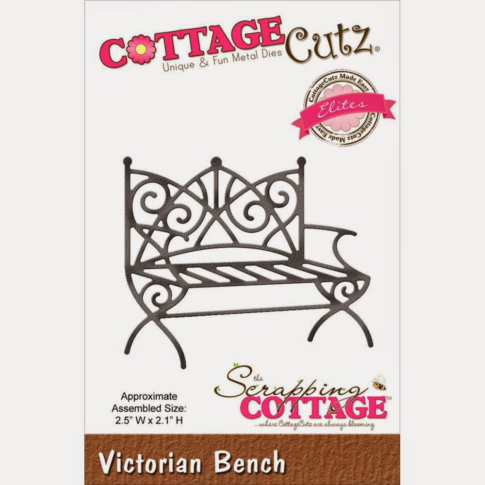 Victorian bench die from COTTAGECUTZ