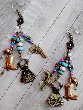 Cowgirls Untamed Earrings