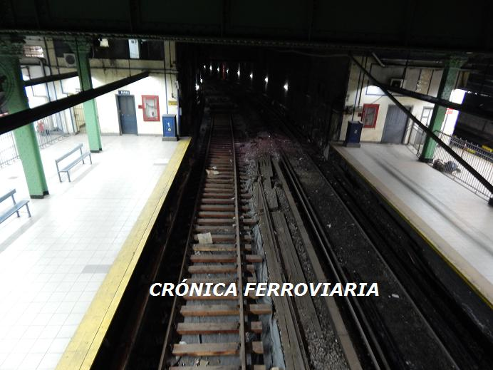 Cr nica ferroviaria l nea sarmiento t nel de acceso a for Ministerio del interior y transporte de la nacion