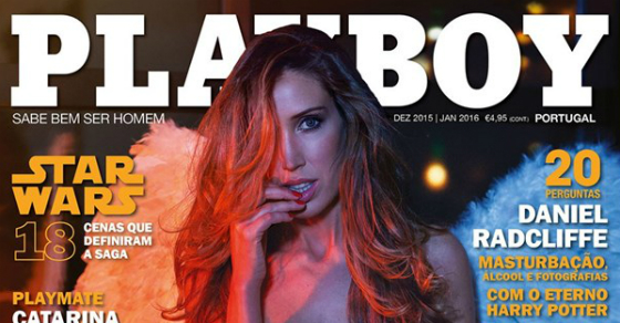 Playboy despe Cristina Ferreira na edição de dezembro