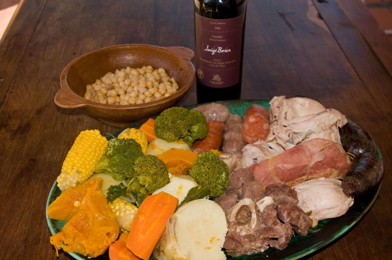 Receta puchero argentino taringa for Ingredientes para comida