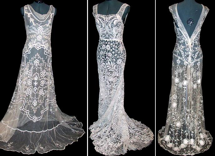 Photos Of Lace Wedding Gowns : Bridal gowns with lace world information