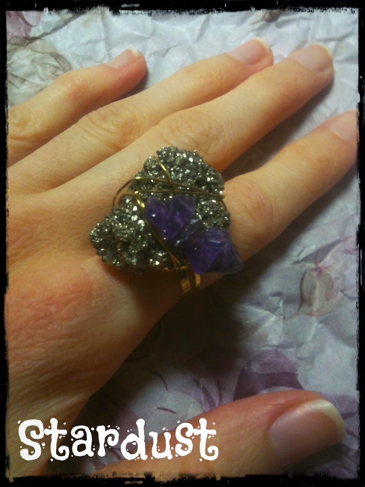 Stone ring - Δαχτυλίδι με ημιπολύτιμες πέτρες