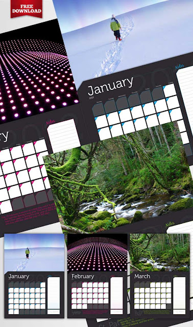 Plantilla Indesign para Calendario