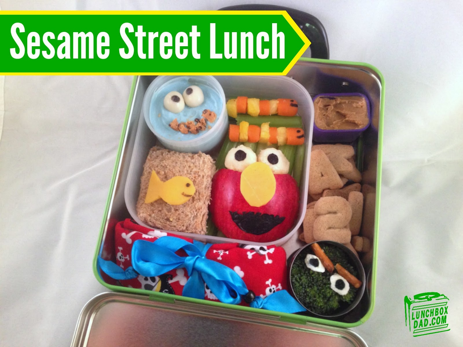 Sesame Street Lunch