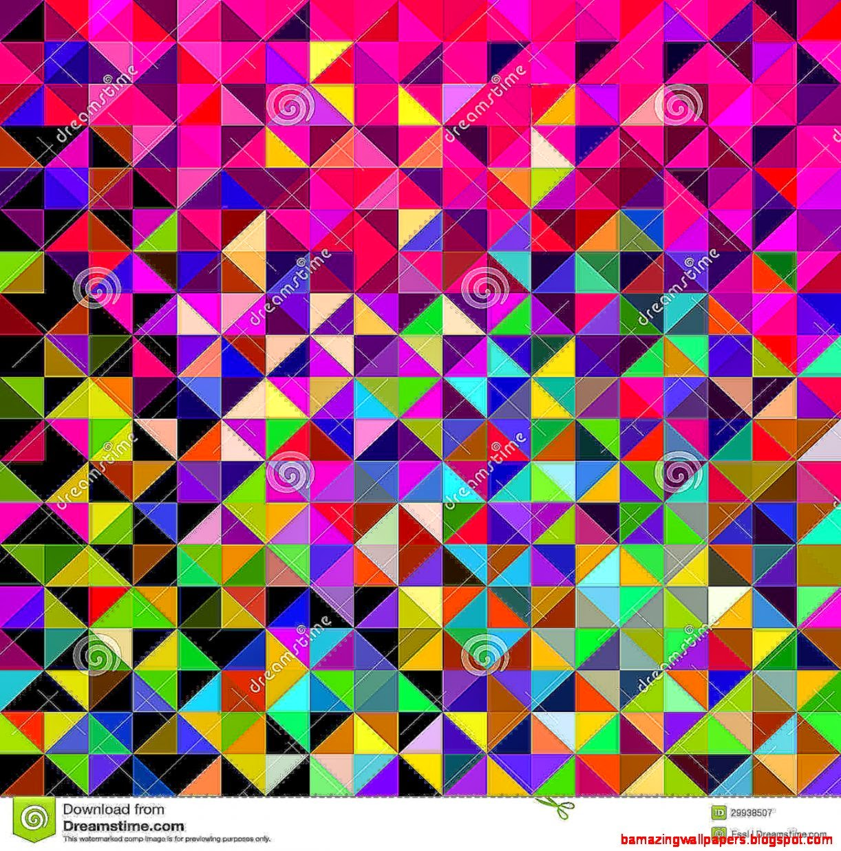 Abstract Vector Geometric Color Background Royalty Free Stock