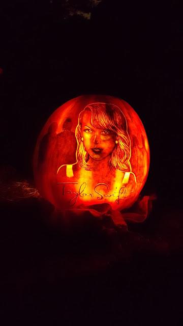 Taylor Swift Jack O'Lantern