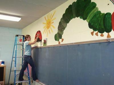 Beautiful mess for Eric carle mural