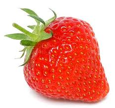 red colored strawberry