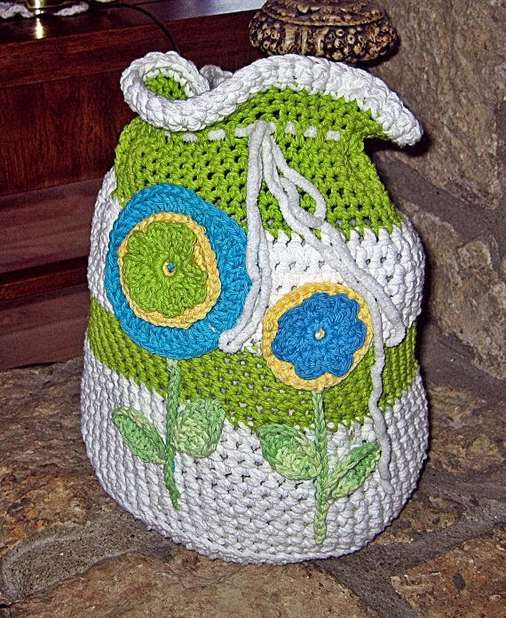 Bolsa De Mão Feita De Croche : Universo da moda cia bolsa saco de croch? it bag
