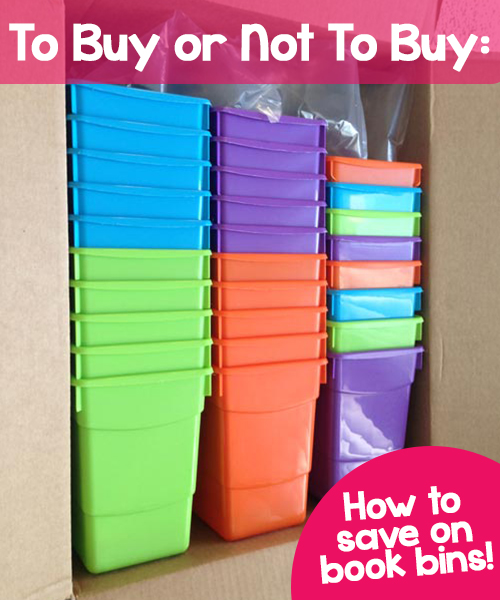 Ms fultz 39 s corner to buy or not to buy plastic book for Cheap book storage