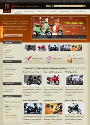 Share template JV Gaspa - Joomla 1.5