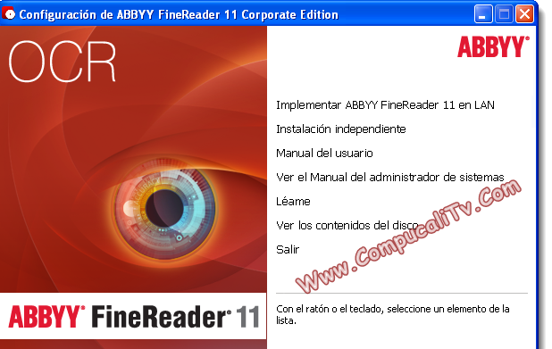 ABBYY FineReader [Version 11] Corporate Edition Español