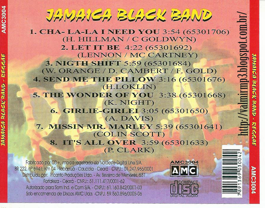 Reggae JAMAICA BLACK BAND NIGHT SHIFT