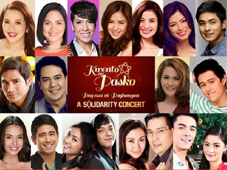 ABS-CBN Stages Solidarity Concert (2013 Christmas Special) on December 10