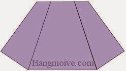 Bước 6: Hoàn thành cách xếp chiếc váy ngắn bằng giấy theo phong cách origami.