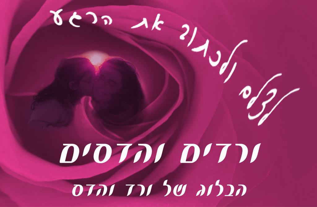ורדים והדסים הבלוג של ורד והדס