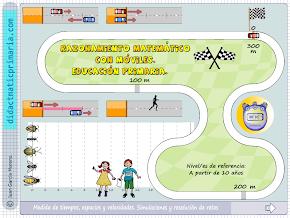 Velocidad, móviles y razonamiento matemático