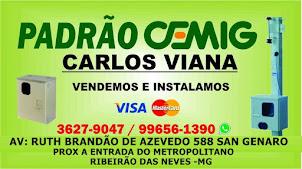 PADRÃO CEMIG E COPASA