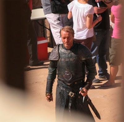 Ser Jorah (Iain Glen) rodaje Marruecos - Juego de Tronos en los siete reinos