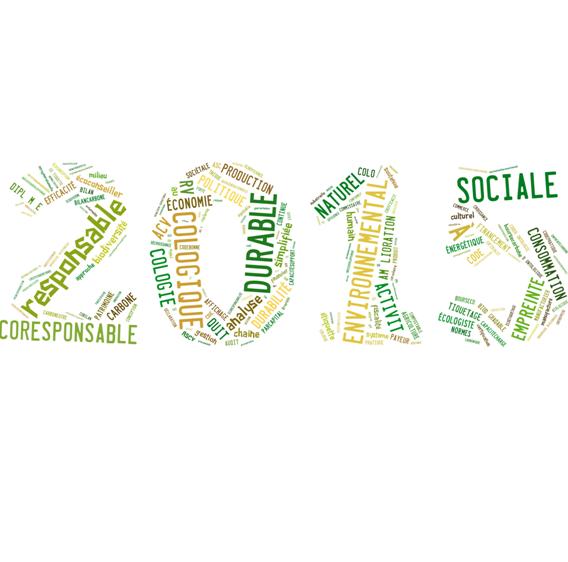 Bonnes résolutions ecologiques et durables pour 2015