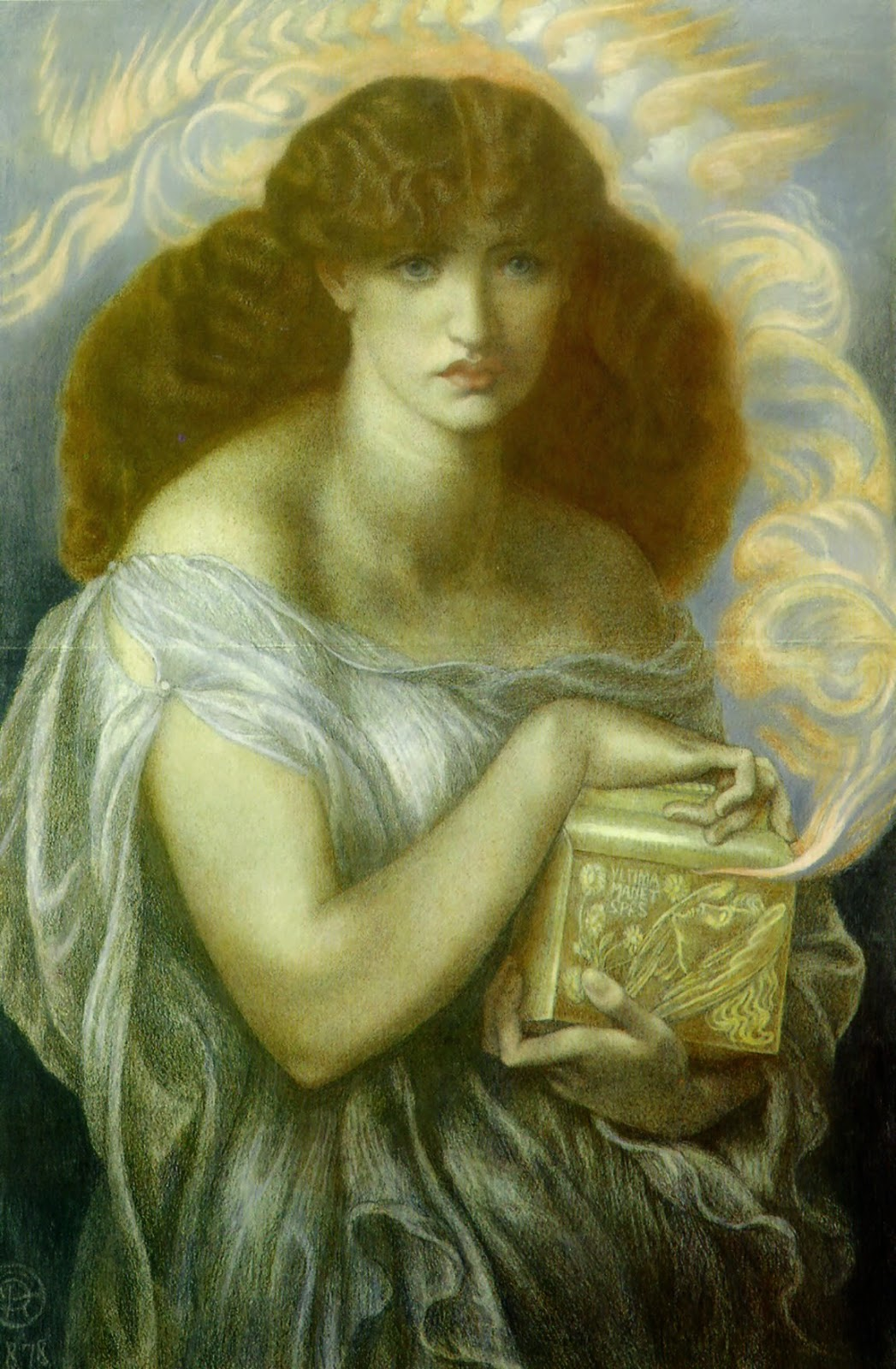v omalous identified box like objects part 1 one of dante gabriel rossetti s famous pandora paintings 1879