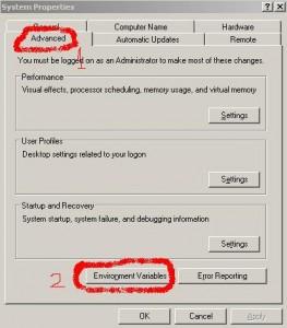 Karya Anak Smk-Ti: Cara Install dan Setting Java Development Kit (JDK) Pada Windows XP