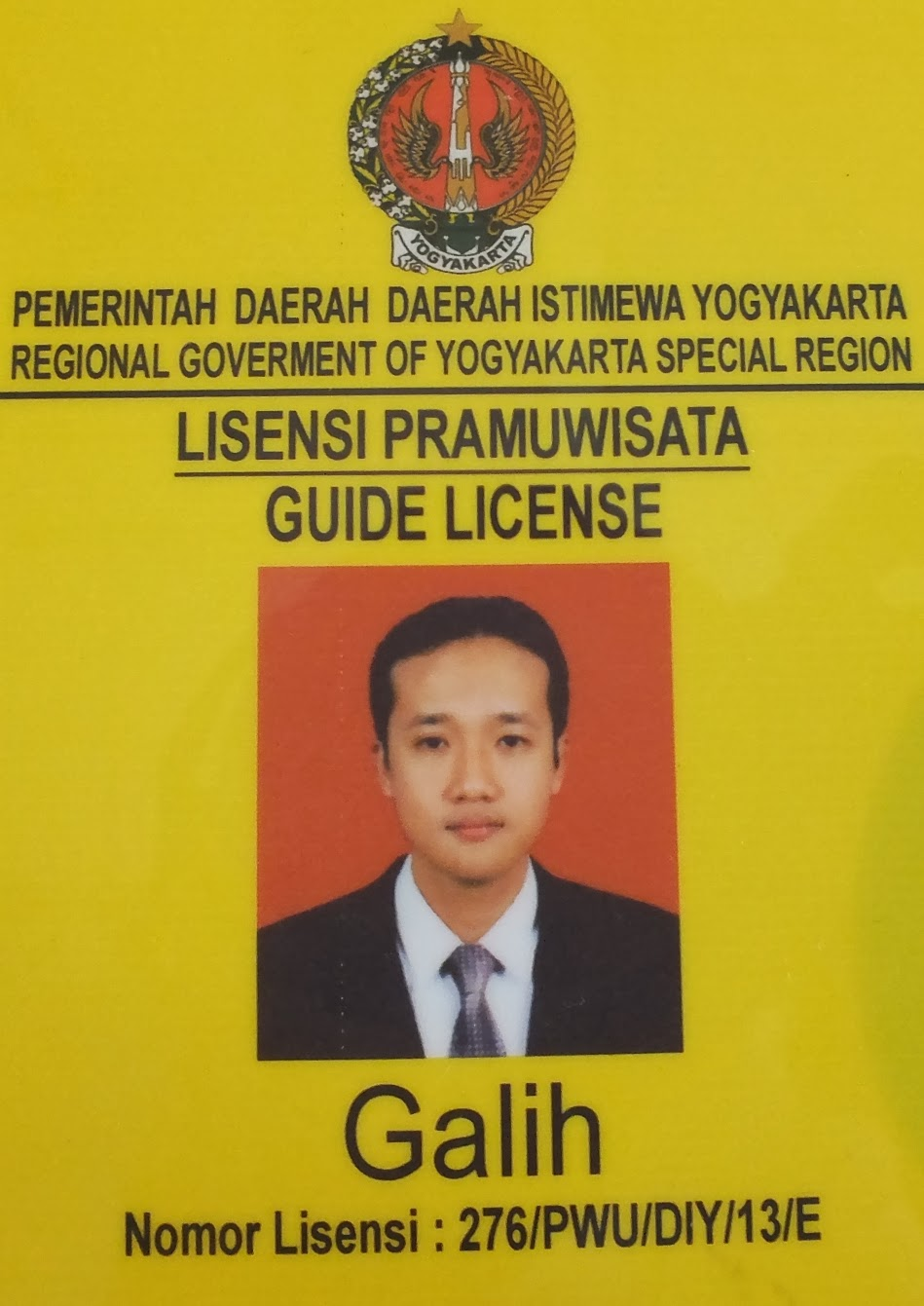 professional guide license