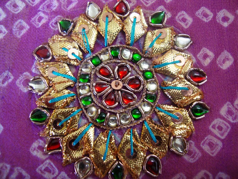 Gota Embroidery Work Gota Work Gota Embroidery Popular Designs Gota Work Design Gallery ...