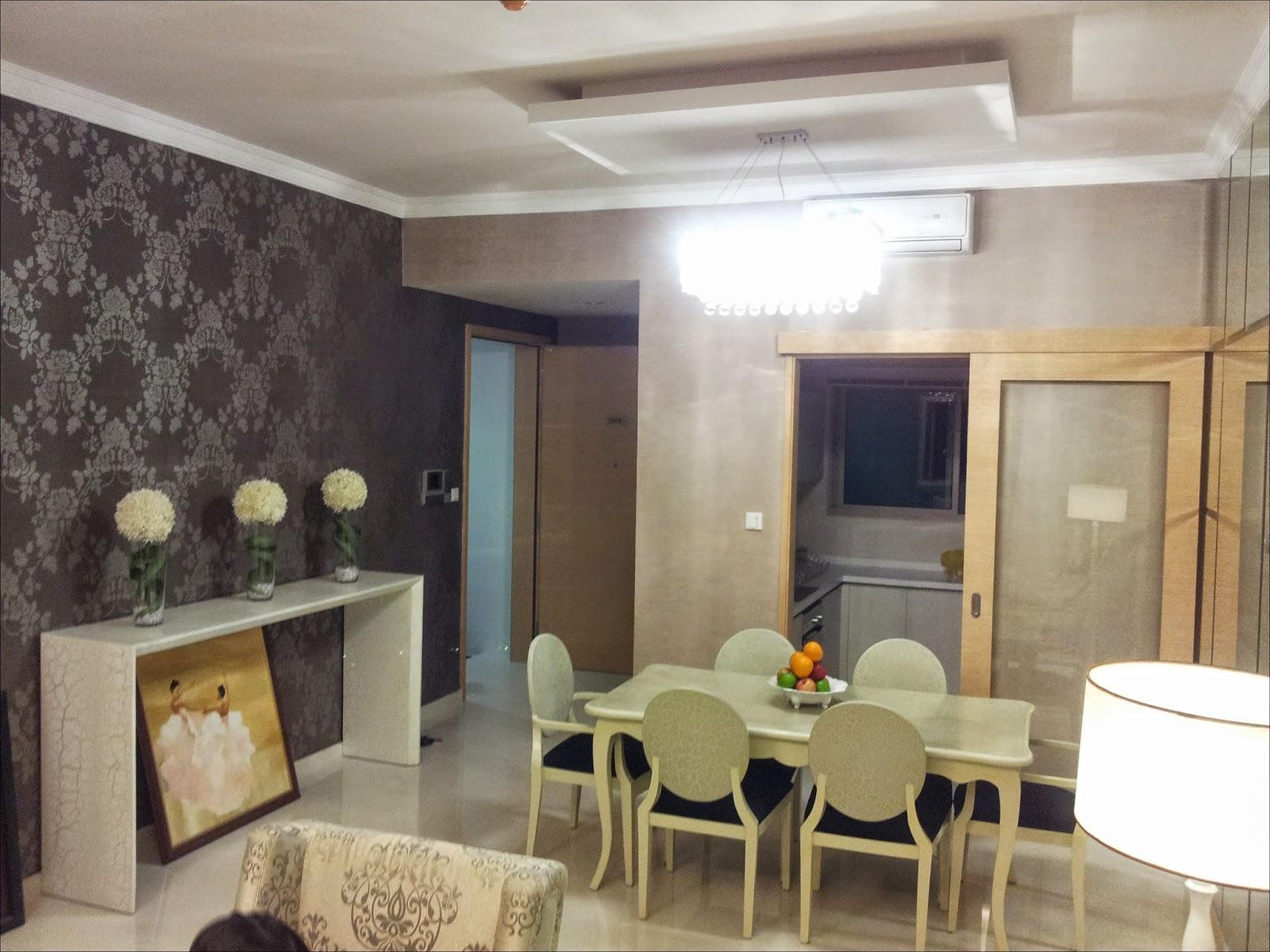Phòng ăn căn hộ The Vista