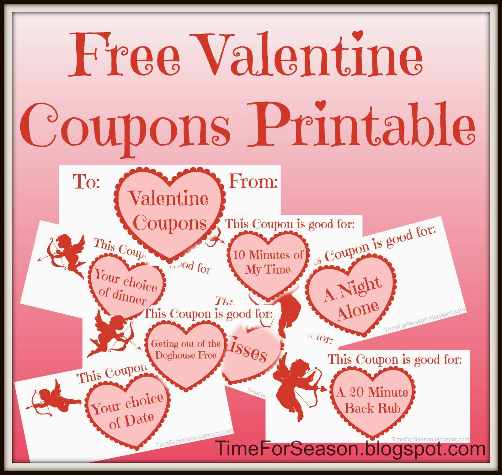 V day coupon ideas