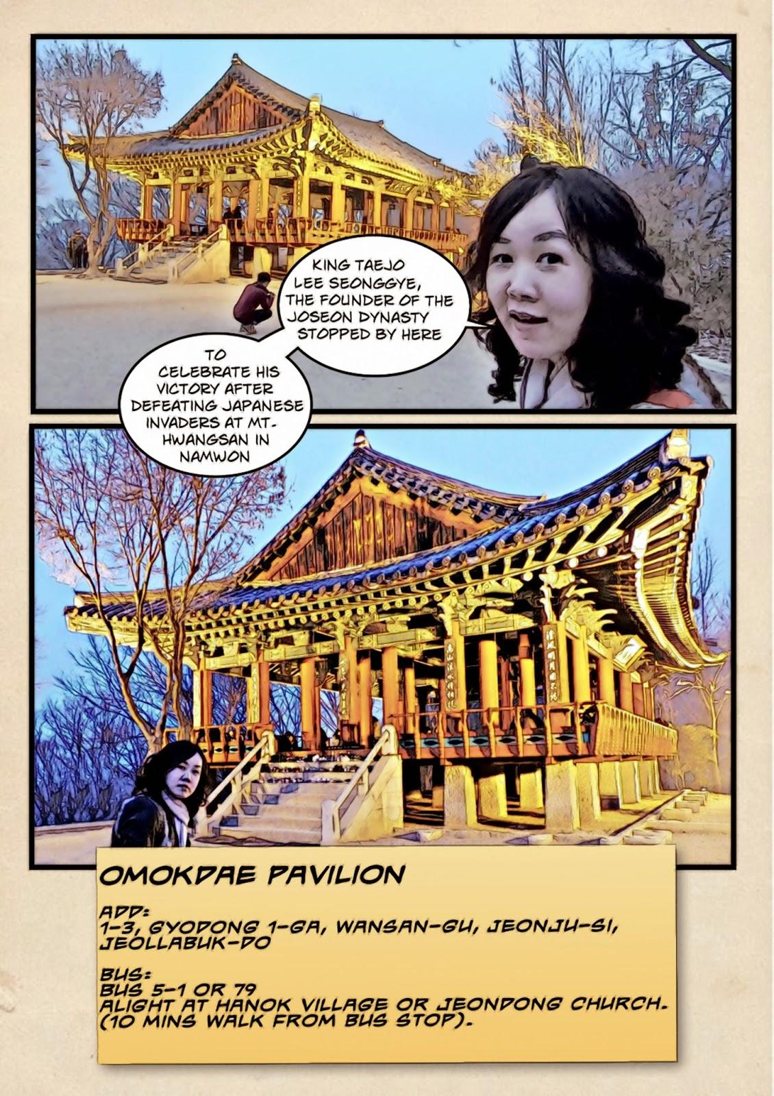 Yeongju Omokdae 오목대 Pavilion | meheartsoul.blogspot.com