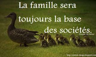 Une image citation famille