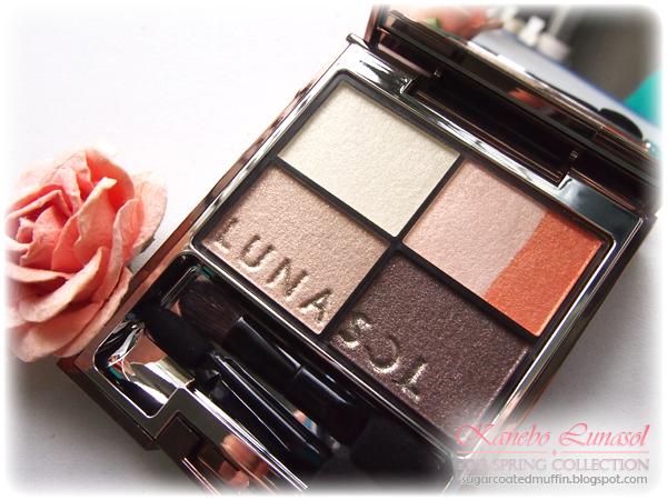 Lunasol 2013 Spring Vivid Clear Eyes Orange Collection