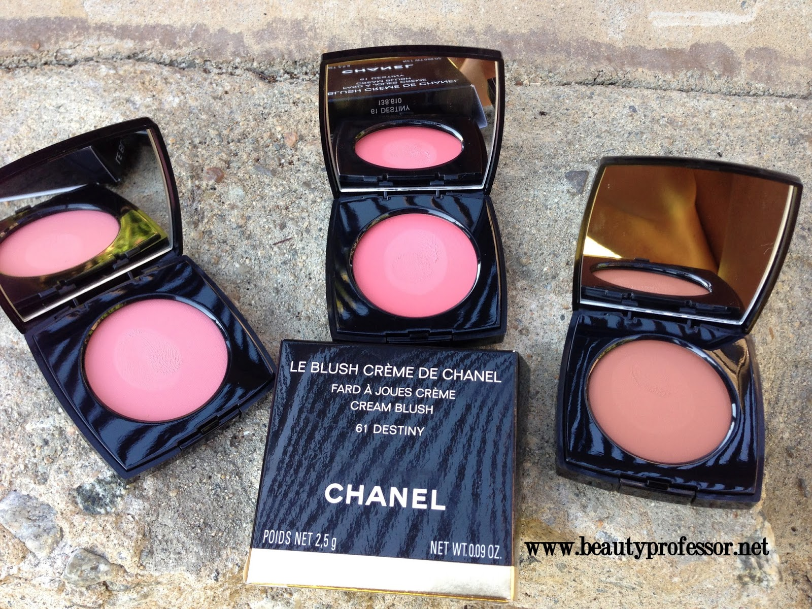 Beauty Professor: Chanel Creme Blush: Fall 2013 Collection ...