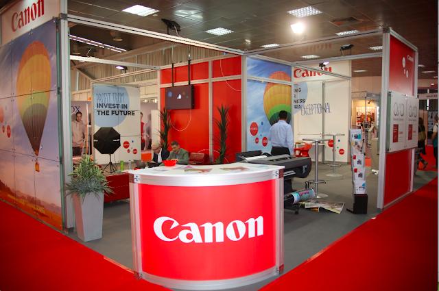Predstavljanje kompanije CANON na sajmu grafike