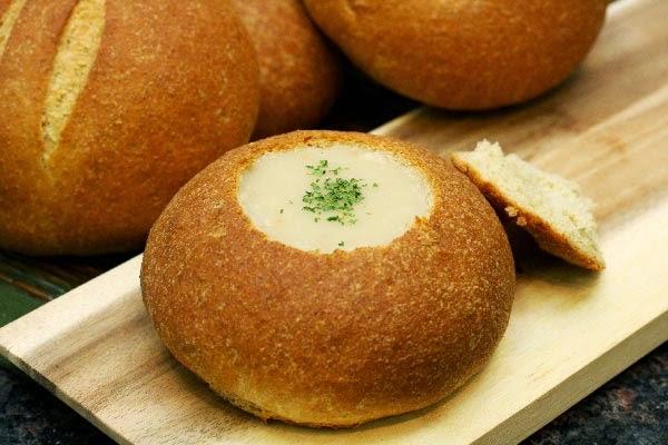 Wheat-Bread-Bowl