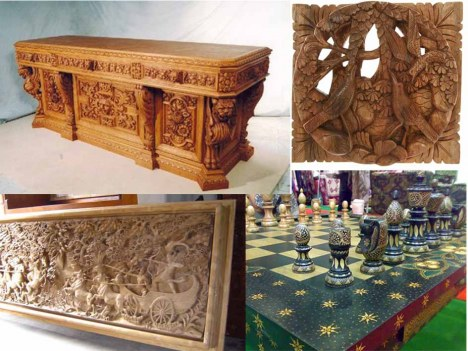 Bentuk dan Teknik Pembuatan Karya Seni Rupa Terapan Nusantara