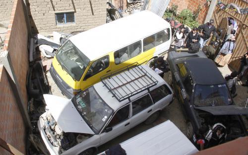 Robo de autos en El Alto