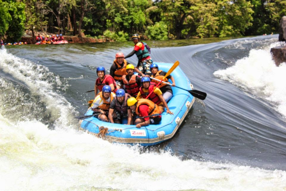 White Water River Rafting in Kali