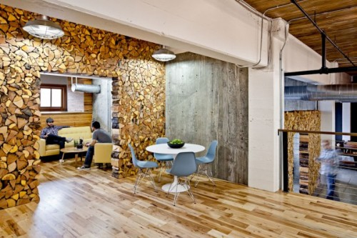 LET'S STAY: Wood log decorative ideas